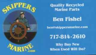 Skippers Marine - Quality Recycled Marine parts