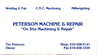 Peterson Machine & Repair